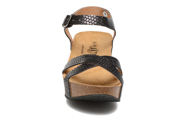 Sandales et nu-pieds Plakton So fine Noir vue portées chaussures