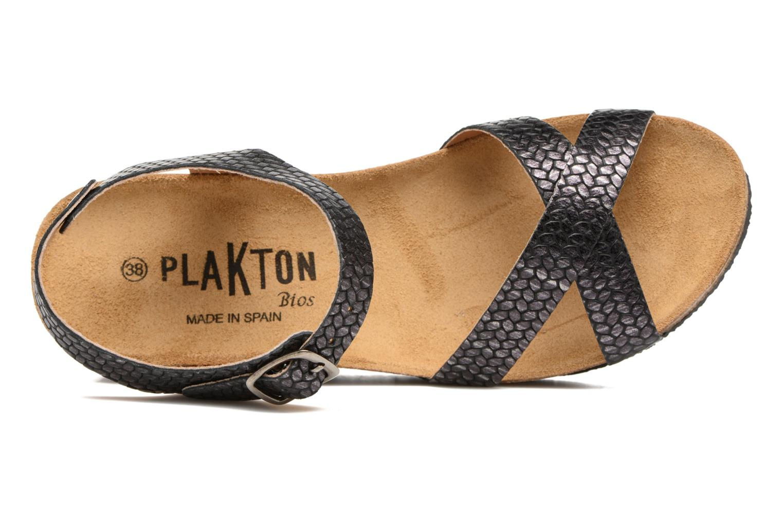 Sandales et nu-pieds Plakton So fine Noir vue gauche