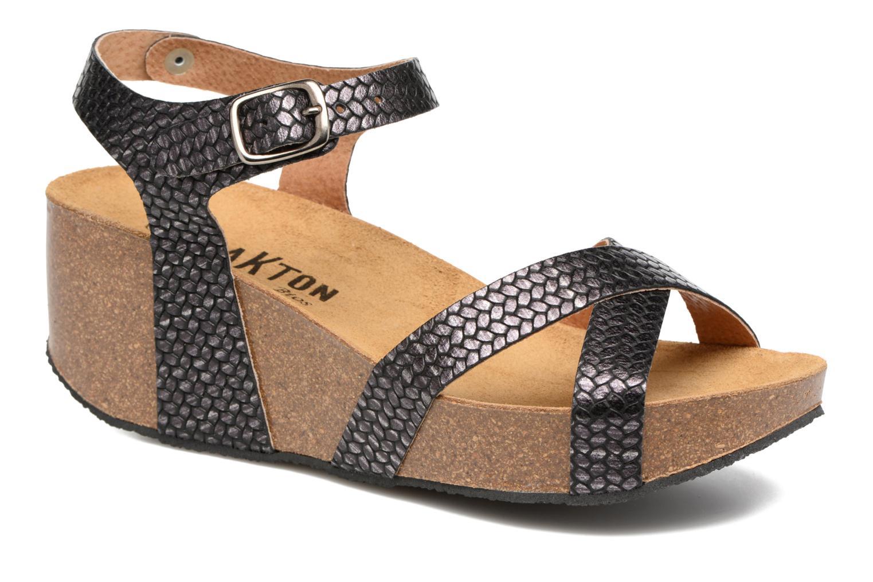 Sandales et nu-pieds Plakton So fine Noir vue détail/paire