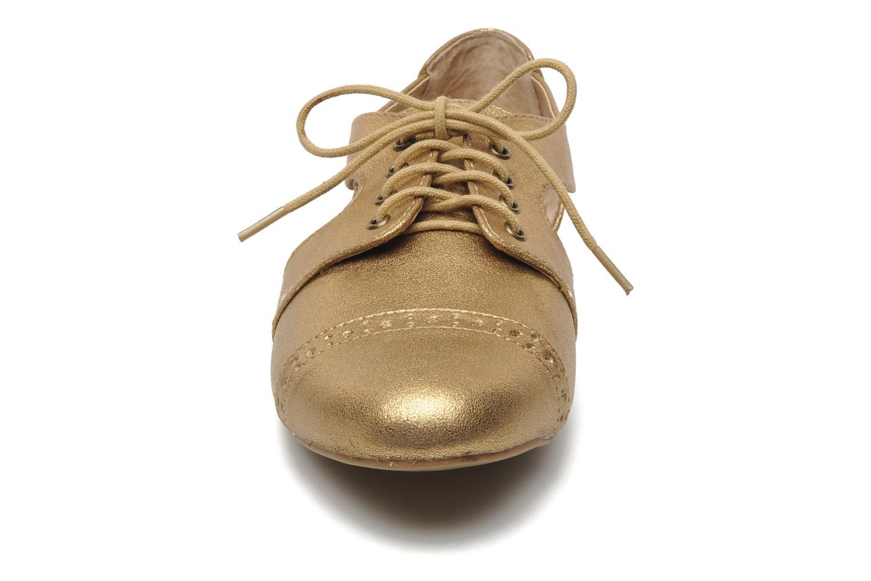 Schnürschuhe Steve Madden CORI gold/bronze schuhe getragen