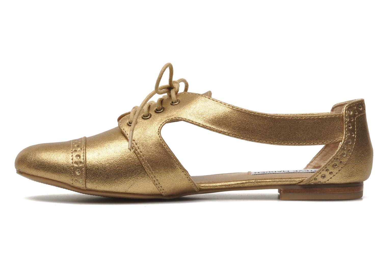 Schnürschuhe Steve Madden CORI gold/bronze ansicht von vorne
