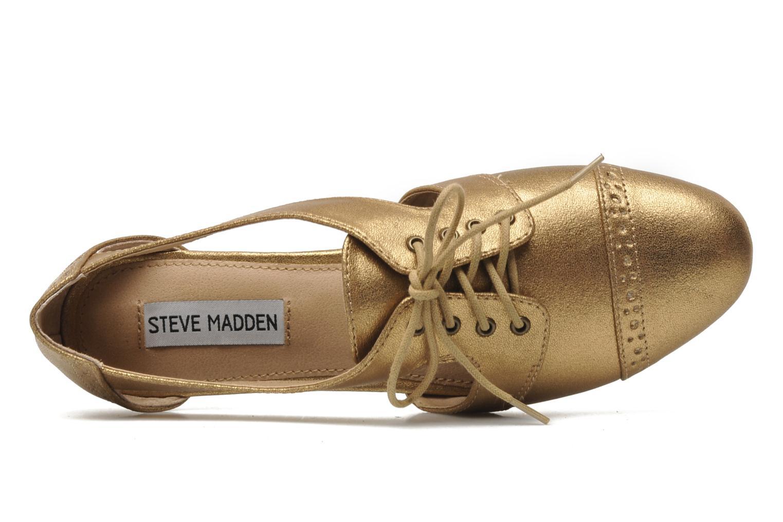 Schnürschuhe Steve Madden CORI gold/bronze ansicht von links