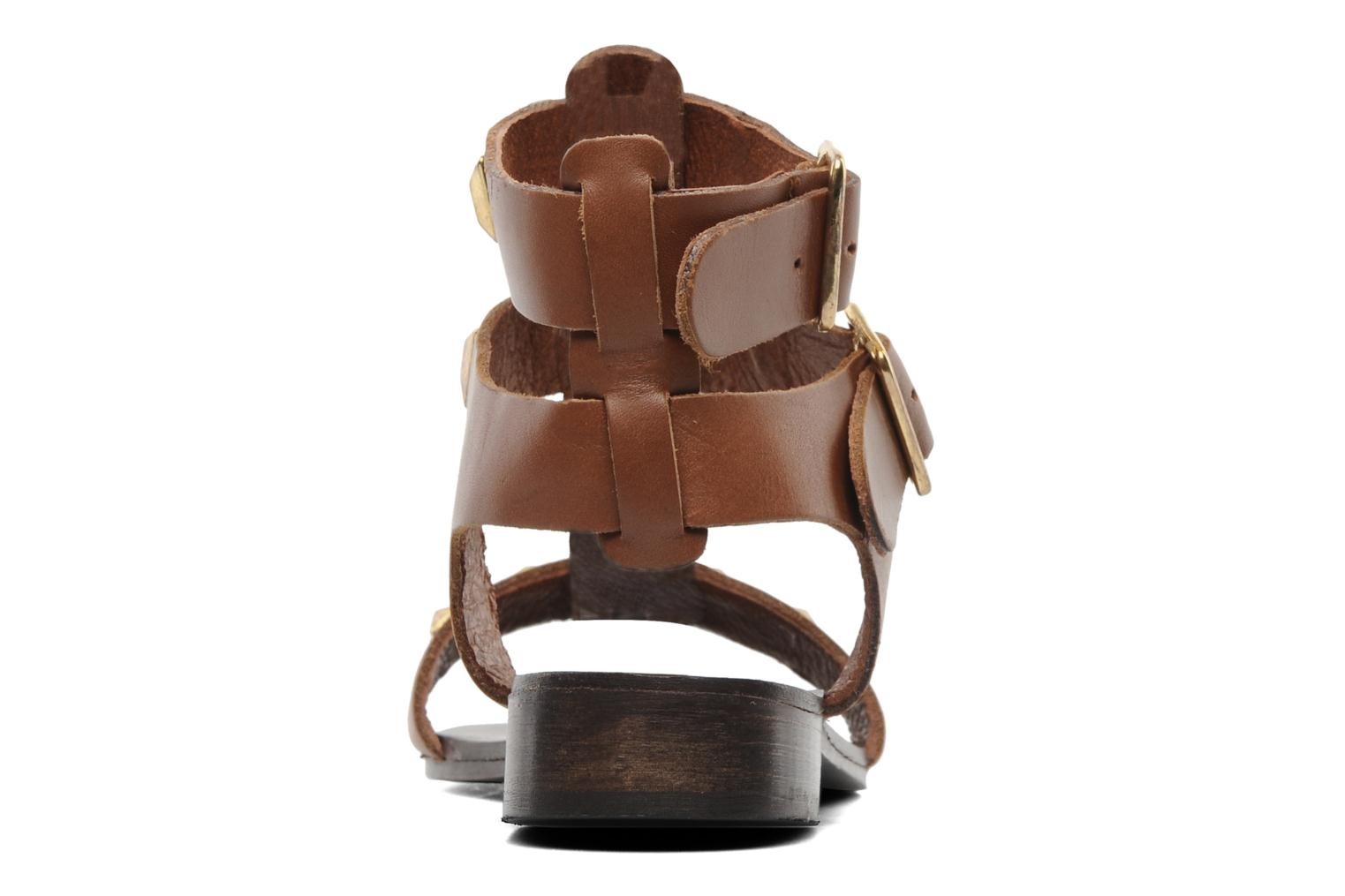 Sandals Steve Madden PERFECK Brown view from the right