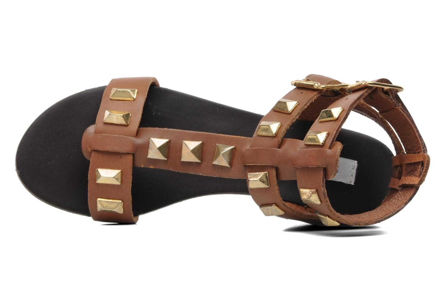 Sandals Steve Madden PERFECK Brown view from the left
