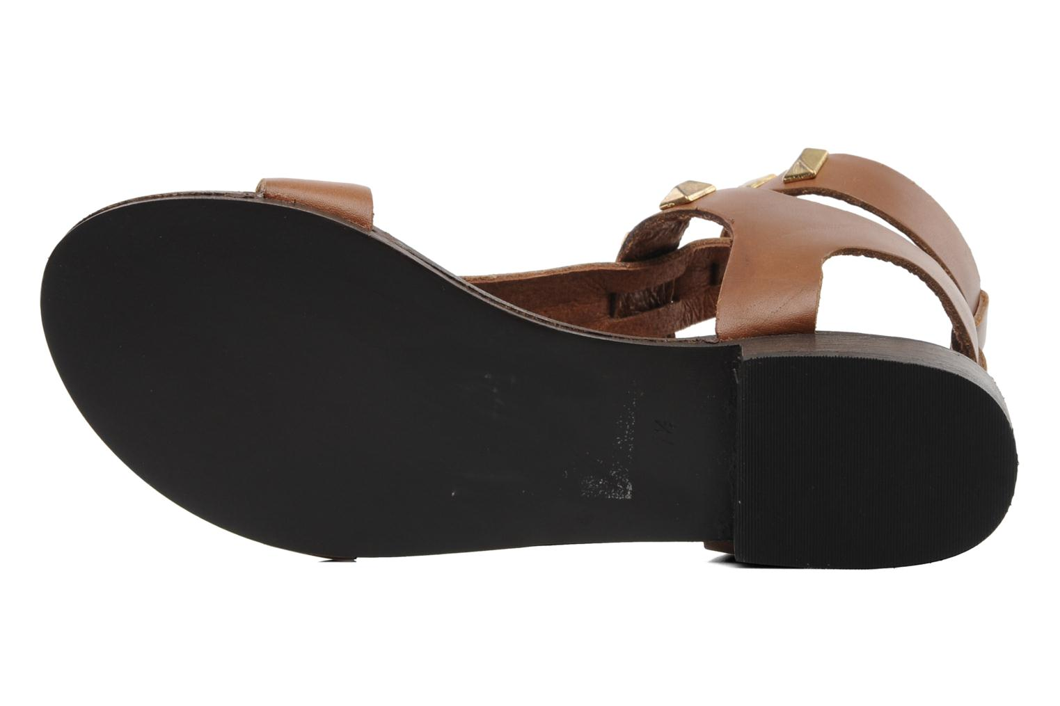 Sandals Steve Madden PERFECK Brown view from above