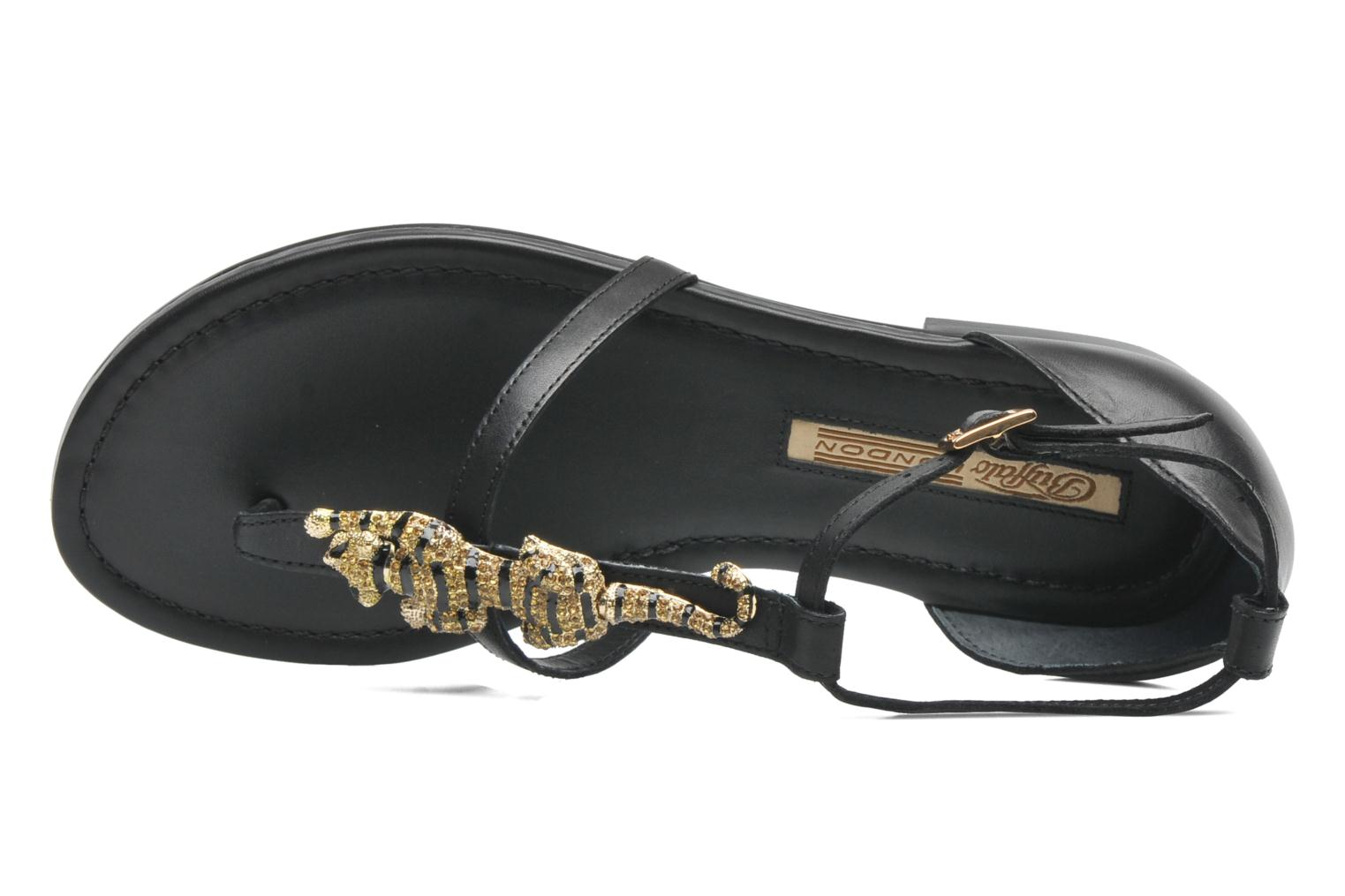 Sandalen Buffalo Bounia Zwart links
