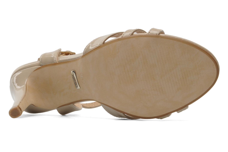 Sandalen Buffalo Balby beige ansicht von oben
