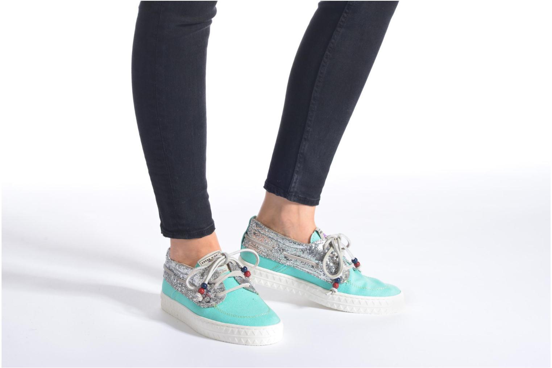 Chaussures à lacets Dolfie Dylan W Marron vue bas / vue portée sac