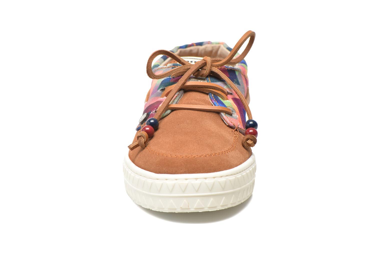 Chaussures à lacets Dolfie Dylan W Marron vue portées chaussures