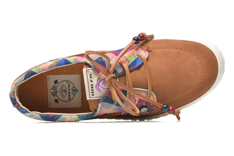 Chaussures à lacets Dolfie Dylan W Marron vue gauche