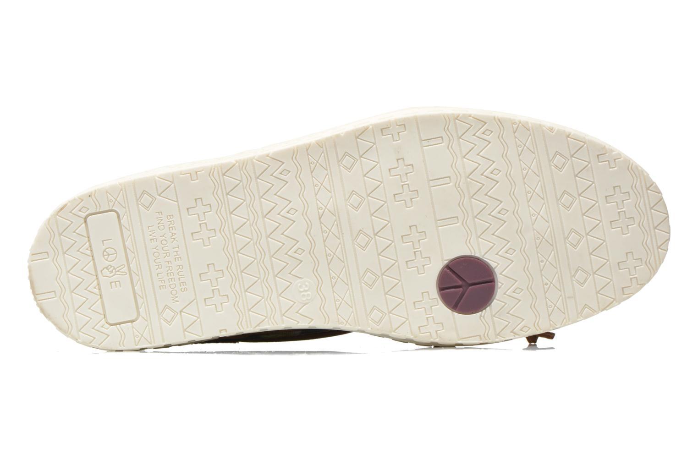 Chaussures à lacets Dolfie Dylan W Marron vue haut
