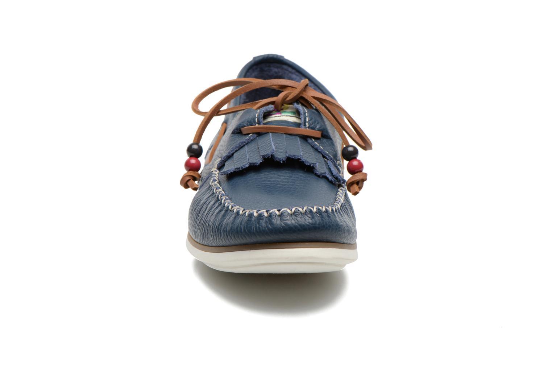 Schnürschuhe Dolfie Landom Classic M blau schuhe getragen