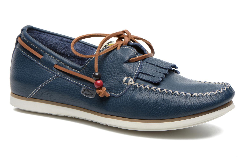 Schnürschuhe Dolfie Landom Classic M blau detaillierte ansicht/modell