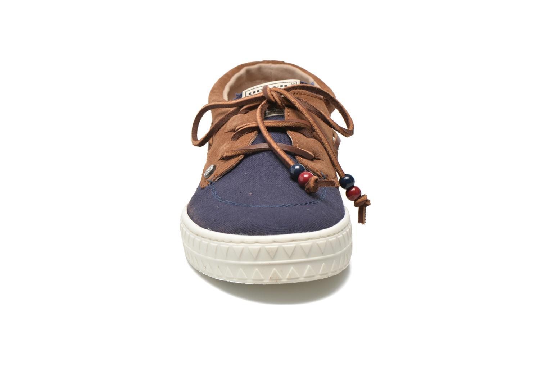 Zapatos con cordones Dolfie Dylan M Azul vista del modelo