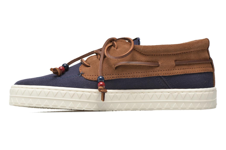 Zapatos con cordones Dolfie Dylan M Azul vista de frente