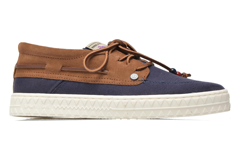 Zapatos con cordones Dolfie Dylan M Azul vistra trasera
