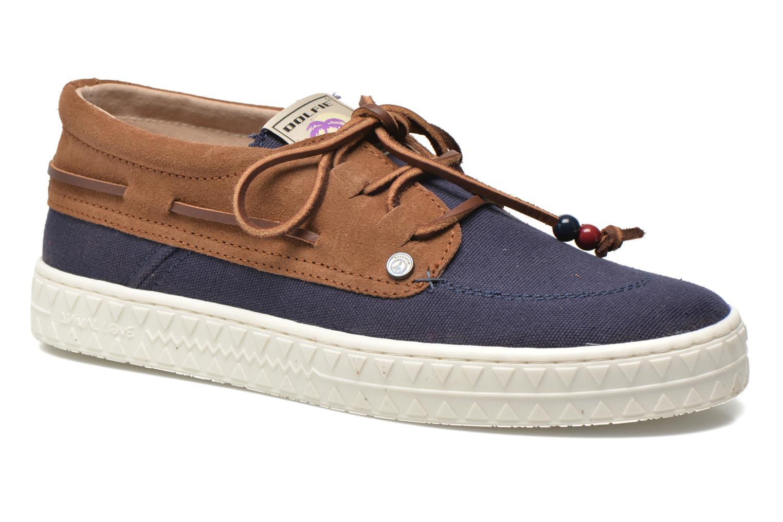 Zapatos con cordones Dolfie Dylan M Azul vista de detalle / par