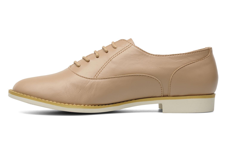 Chaussures à lacets Shellys London KEDIENG Beige vue face