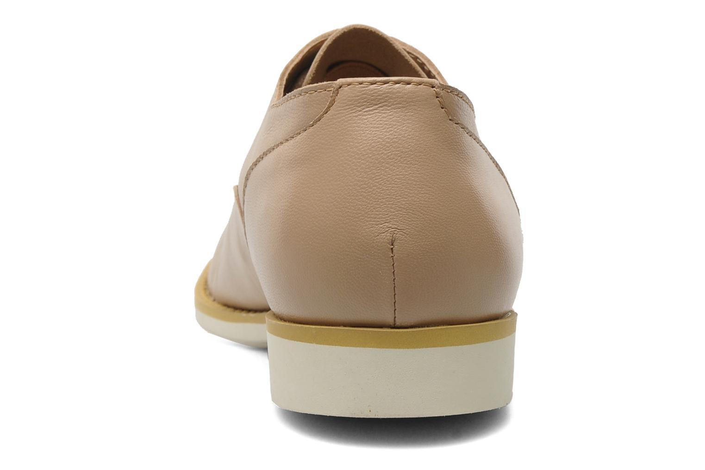 Chaussures à lacets Shellys London KEDIENG Beige vue droite