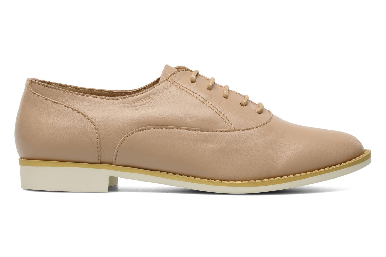 Chaussures à lacets Shellys London KEDIENG Beige vue derrière
