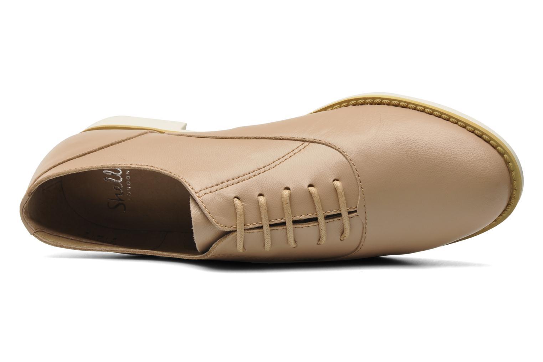 Chaussures à lacets Shellys London KEDIENG Beige vue gauche