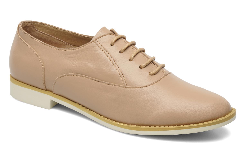 Chaussures à lacets Shellys London KEDIENG Beige vue détail/paire