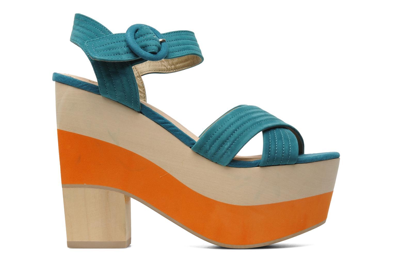 Sandales et nu-pieds Shellys London STRUDA Vert vue derrière