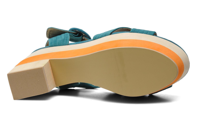 Sandales et nu-pieds Shellys London STRUDA Vert vue haut