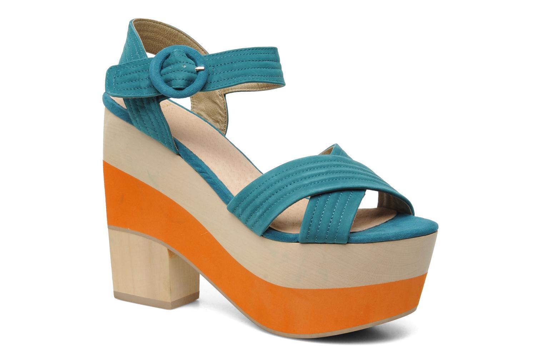Sandales et nu-pieds Shellys London STRUDA Vert vue détail/paire