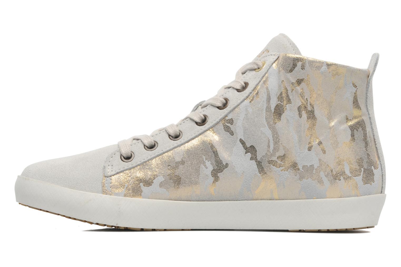 Sneaker Pantofola d'Oro Viola mid grau ansicht von vorne