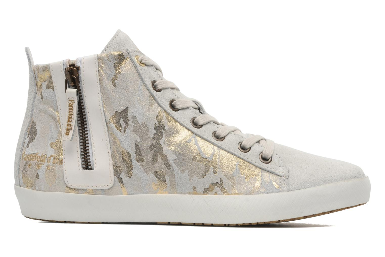 Sneaker Pantofola d'Oro Viola mid grau ansicht von hinten