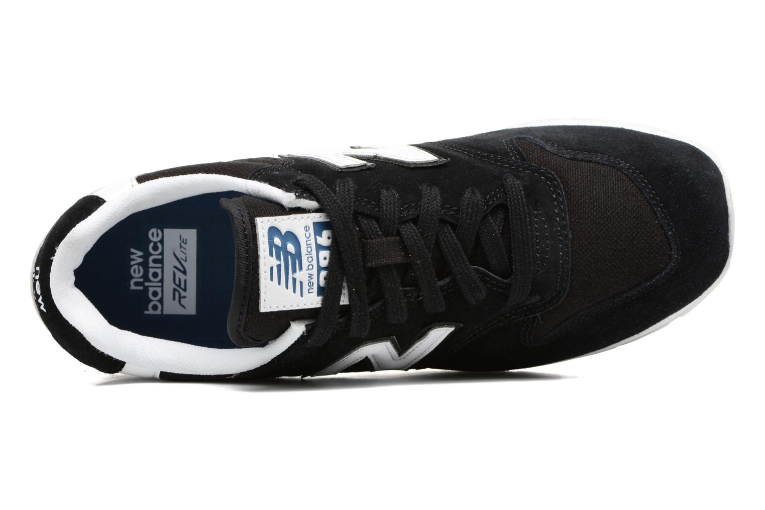 Trainers New Balance MRL996 Black view from the left