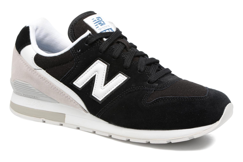 Deportivas New Balance MRL996 Negro vista de detalle / par