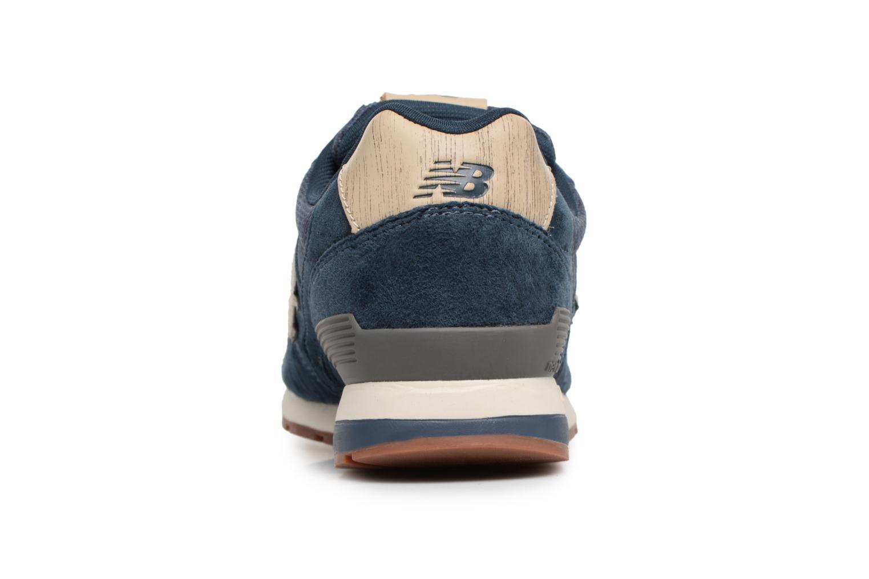 Baskets New Balance MRL996 Bleu vue droite