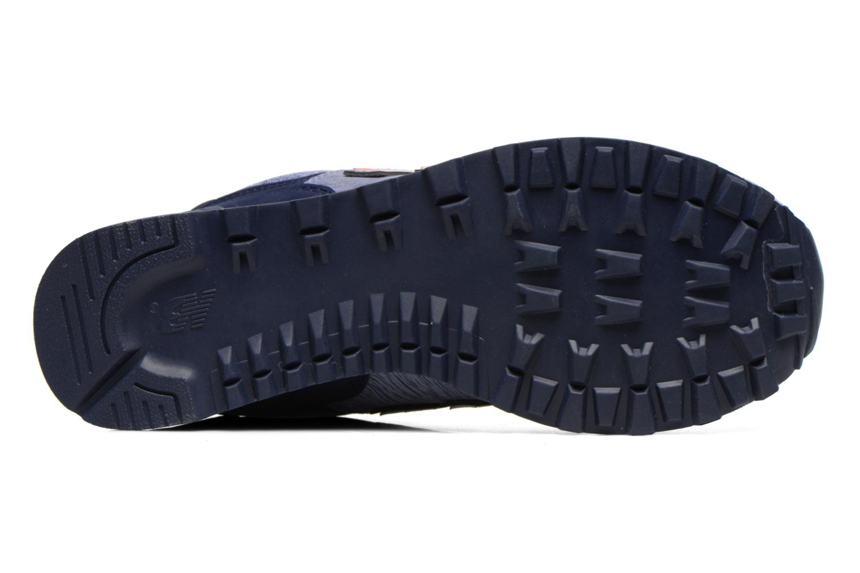 Sneaker New Balance WL574 lila ansicht von oben
