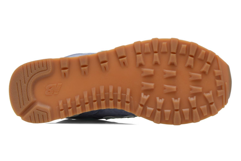 Sneaker New Balance WL574 blau ansicht von oben