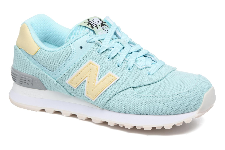 Sneakers New Balance WL574 Blauw detail