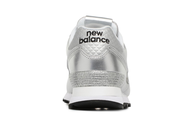 Baskets New Balance WL574 Argent vue droite