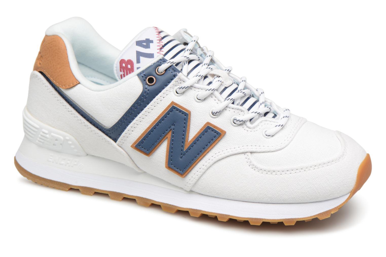 Grandes descuentos últimos zapatos New Balance WL574 (Blanco) - Deportivas Descuento