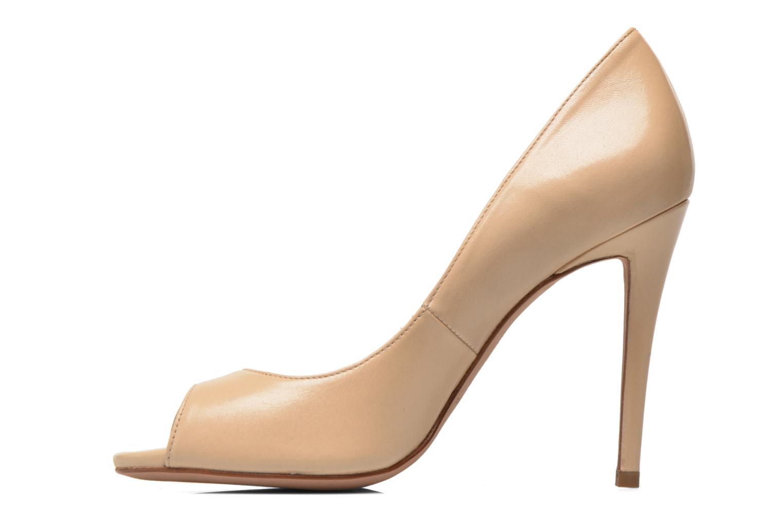 Zapatos de tacón Pura Lopez Gabriella Beige vista de frente