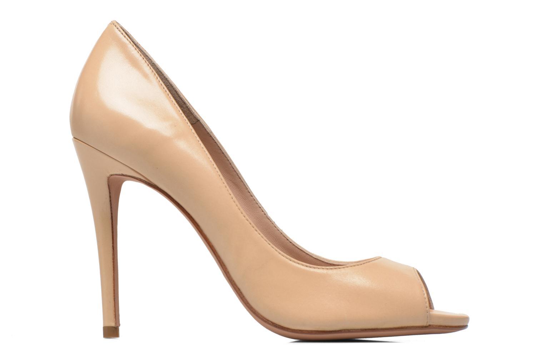 Zapatos de tacón Pura Lopez Gabriella Beige vistra trasera