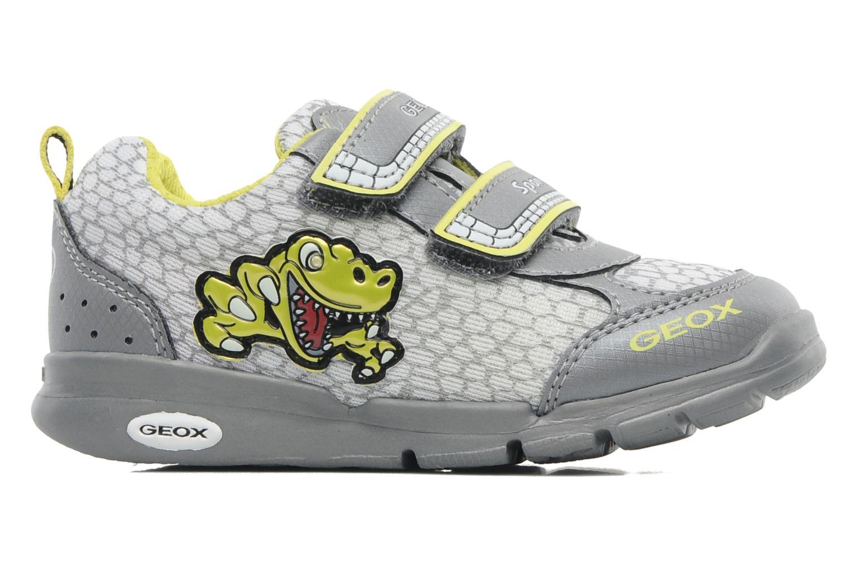 Sneakers Geox B RUNNER BOY Grå bild från baksidan
