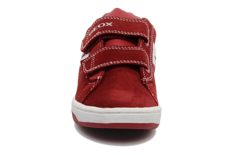 Baskets Geox J Maltin B. A Rouge vue portées chaussures