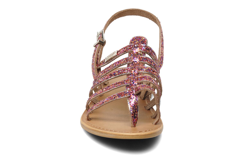 Sandals Les Tropéziennes par M Belarbi Happy Pink model view