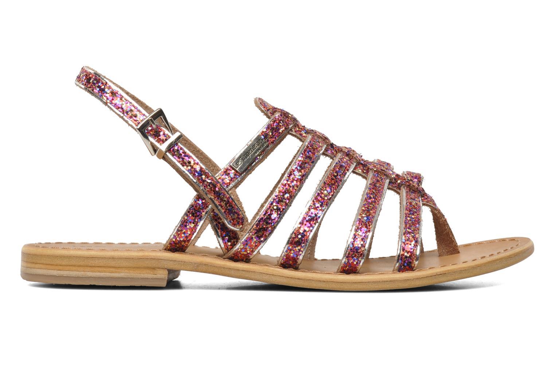 Sandales et nu-pieds Les Tropéziennes par M Belarbi Happy Rose vue derrière