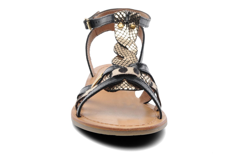 Sandalen Les Tropéziennes par M Belarbi Hams schwarz schuhe getragen