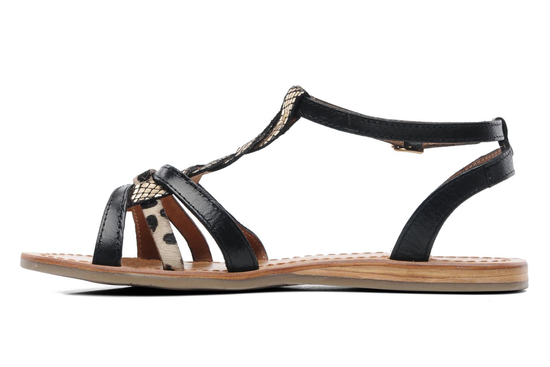 Sandales et nu-pieds Les Tropéziennes par M Belarbi Hams Noir vue face