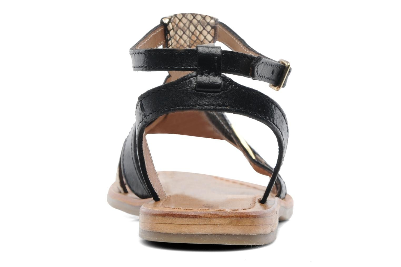 Sandales et nu-pieds Les Tropéziennes par M Belarbi Hams Noir vue droite