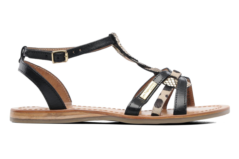 Sandales et nu-pieds Les Tropéziennes par M Belarbi Hams Noir vue derrière
