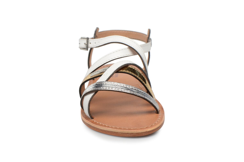 Sandalen Les Tropéziennes par M Belarbi Hapax weiß schuhe getragen